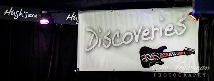 Jane Harbury's Discoveries at Hugh's Room in Toronto 2016-10-11